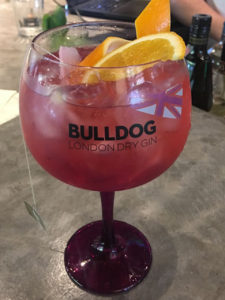 O delicioso drink Queen G, novo no Cardápio de Verão do Baco.