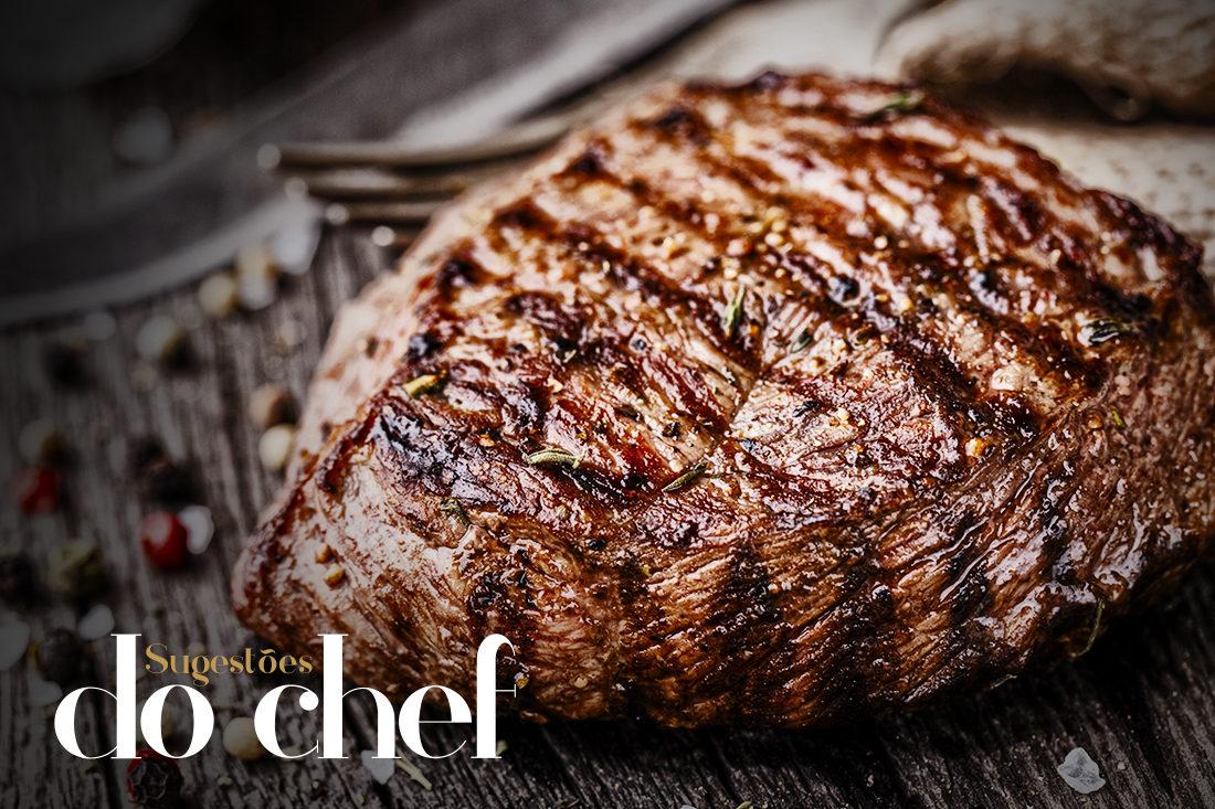 Na imagem, uma das 8 Sugestões do Chef, um cardápio especial para janeiro, no Baco Restaurante.