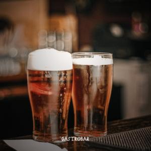 Na imagem, cervejas especiais do Gastrobar.