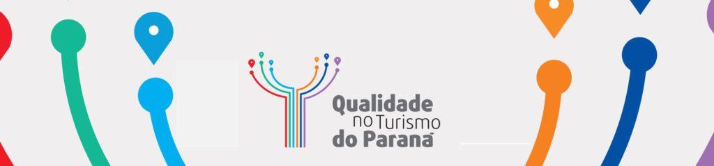 Na imagem, o Selo de Qualidade no Turismo do Paraná.